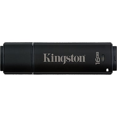 Kingston DataTraveler 5000 16GB USB 2.0 Data Encrypted USB Flash Drive (Black)