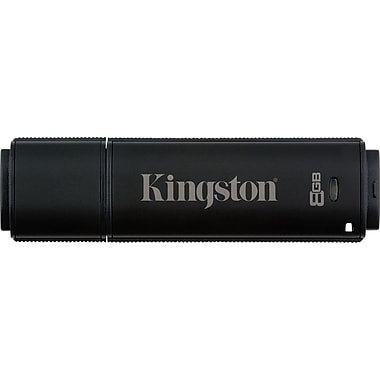 Kingston DataTraveler 5000 8GB USB 2.0 Data Encrypted USB Flash Drive (Black)