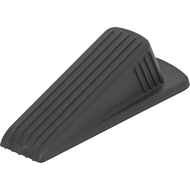 Staples® Door Wedge, Heavy Duty, Black