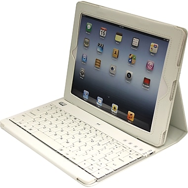 Adesso Compagno™ 3 - Bluetooth Scissor-Switch Keyboard with Carrying Case for iPad
