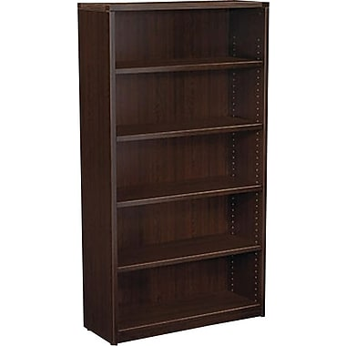 Office Star Napa Collection Bookcase, 5-Shelf, Espresso