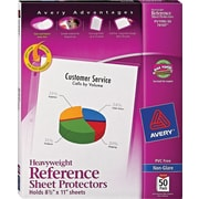 Avery® Heavyweight Sheet Protectors, Non-Glare, 50/Pack