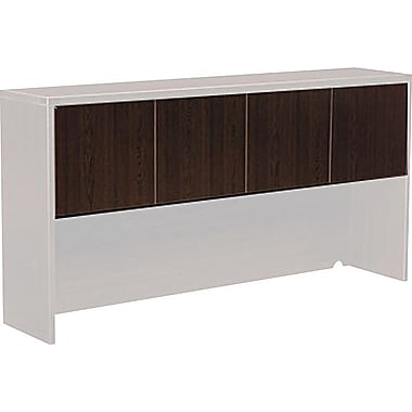 Office Star Napa Collection Credenza Hutch Doors, Espresso