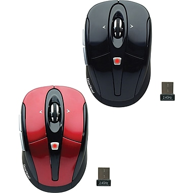 Gear Head Optical 2.4 GHz Wireless Tilt-Wheel Mouse