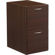 Office Star Napa Collection File/File Pedestal, Assembled, Espresso