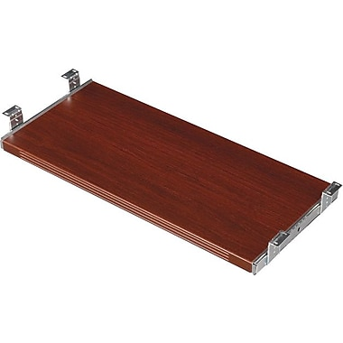 Office Star Napa Collection Keyboard Tray, Mahogany