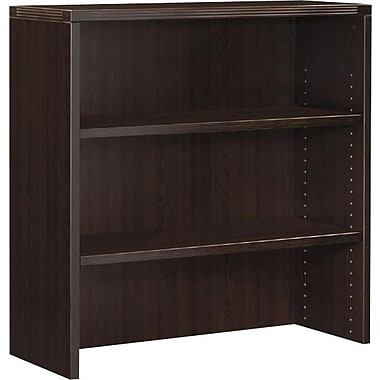Office Star Napa Collection Open Hutch, Espresso