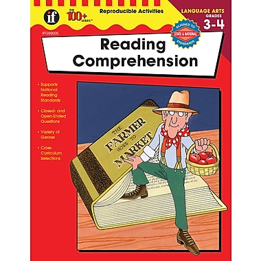 Instructional Fair Reading Comprehension Resource Book, Grades 3 - 4