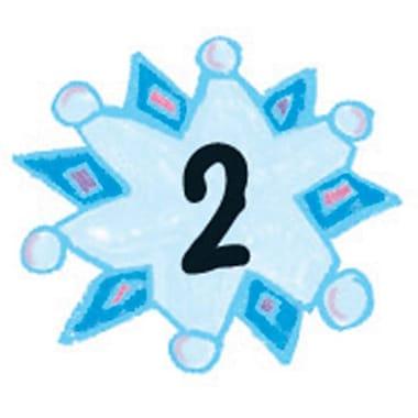 Carson-Dellosa Snowflakes: Kid-Drawn Calendar Cover-Up