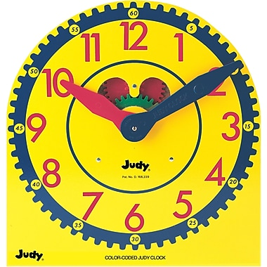 Judy Instructo Color-Coded Judy® Clock