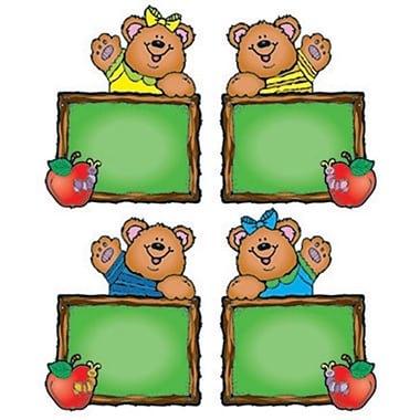 D.J. Inkers Chalkboard Bears Cut-Outs