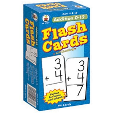 Carson-Dellosa Addition 0 - 12 Flash Cards