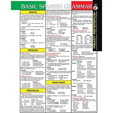Instructional Fair Spanish Ready Reference Learning Cards