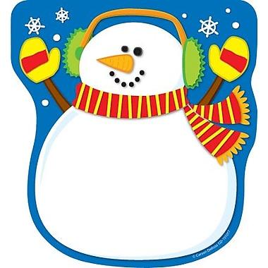 Carson-Dellosa Snowman Notepad