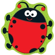 "Carson Dellosa Lady Bug Notepad 8"" x 6"", Green/Red (151029)"