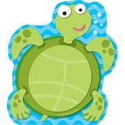 """Carson Dellosa Sea Turtle Notepad 8"""" x 6"""", Blue/Green (151032)"""