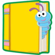 "Carson Dellosa Book Notepad 8"" x 6"", Blue/Yellow (151036)"