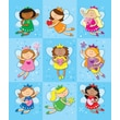 Carson-Dellosa Fairies Prize Pack Stickers