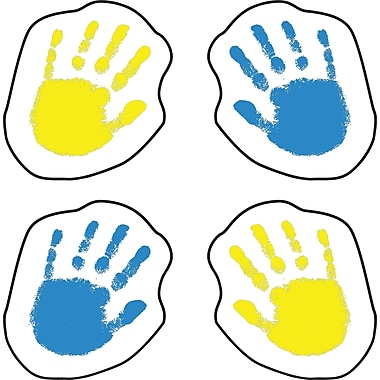 Carson-Dellosa Handprints Shape Stickers