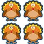 Carson-Dellosa Turkeys Shape Stickers