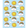 Carson-Dellosa Suns & Rainbows Shape Stickers