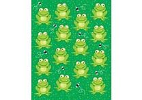 Carson-Dellosa Frogs Shape Stickers