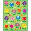 Carson-Dellosa Flowers Shape Stickers