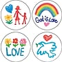 Carson-Dellosa Faith Shape Stickers