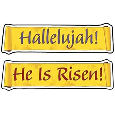 Carson-Dellosa He Is Risen Shape Stickers