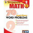 Frank Schaffer 70 Must-Know Word Problems Workbook, Grade 3