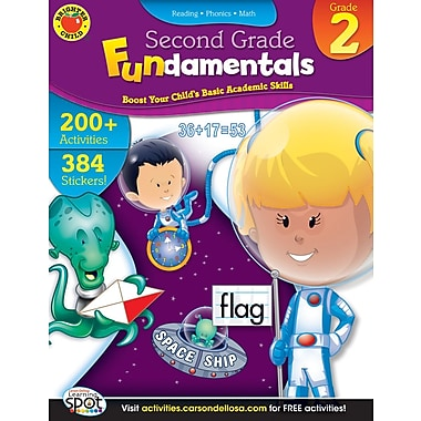 Brighter Child Second Grade Fundamentals Workbook