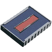 Trodat® 4750 Replacement Ink Pad, Blue/Red