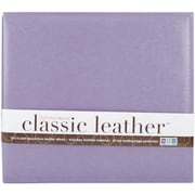 We R Memory Keepers We R Classic Leather Postbound Album, 12 x 12, Lilac
