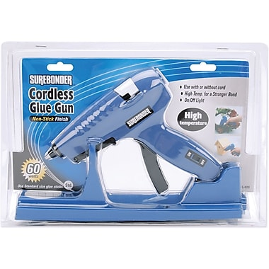 FPC High-Temp Cordless Glue Gun, White