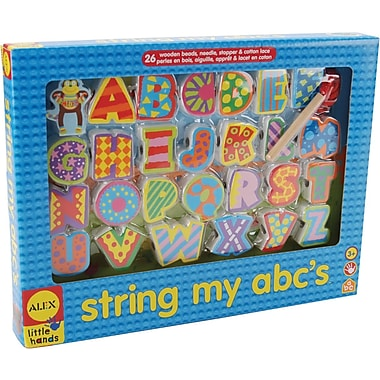 Alex Toys String My ABC's Kit