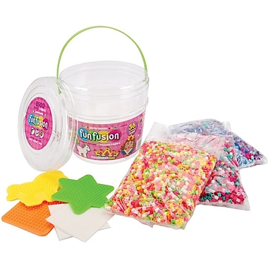 Perler Fun Fusion Fuse Bead Activity Bucket, Magic Princess