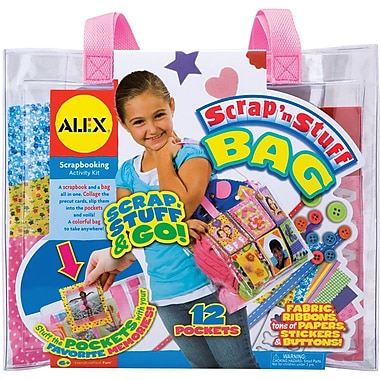 Alex Toys Scrap 'n Stuff Bag Kit