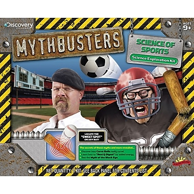 Poof-Slinky Mythbusters Science Of Sports Kit