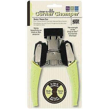 We R Memory Keepers Crop-A-Dile Corner Chomper Tool, Stub/Deco Cut
