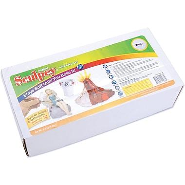 Polyform Sculpey Original Polymer Clay, 8 Pounds, White