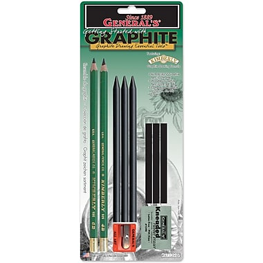 General Pencil Graphite Drawing Essentials Tool Kit