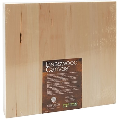 Walnut Hollow Basswood Canvas, 12in. x 12in.