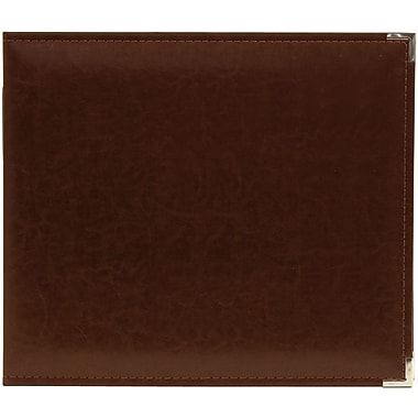 We R Memory Keepers We R Classic Leather Ring Photo Album, 8in. x 8in., Cinnamon