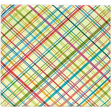 MBI Criss Cross Postbound Album, 12in. x 12in., Multi