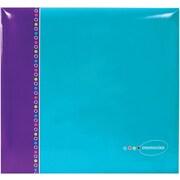 MBI Blue Raspberry Postbound Album, 12 x 12