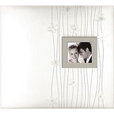 K&Company Forever Yours Postbound Fabric Cover Album 12in. x 12in.