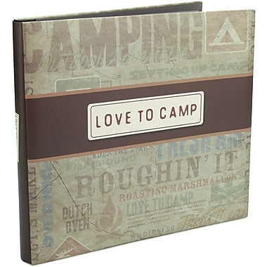 Karen Foster I Love To Camp Postbound Album 12in. x 12in.