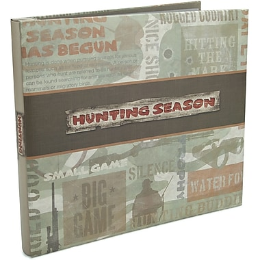 Karen Foster Hunting Season Postbound Album 12in. x 12in.