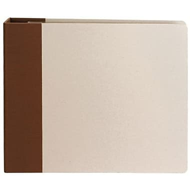 American Crafts Modern D-Ring Album, 12in. x 12in., Brown