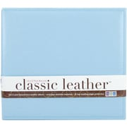 We R Memory Keepers We R Classic Leather Postbound Album, 12 x 12, Baby Blue